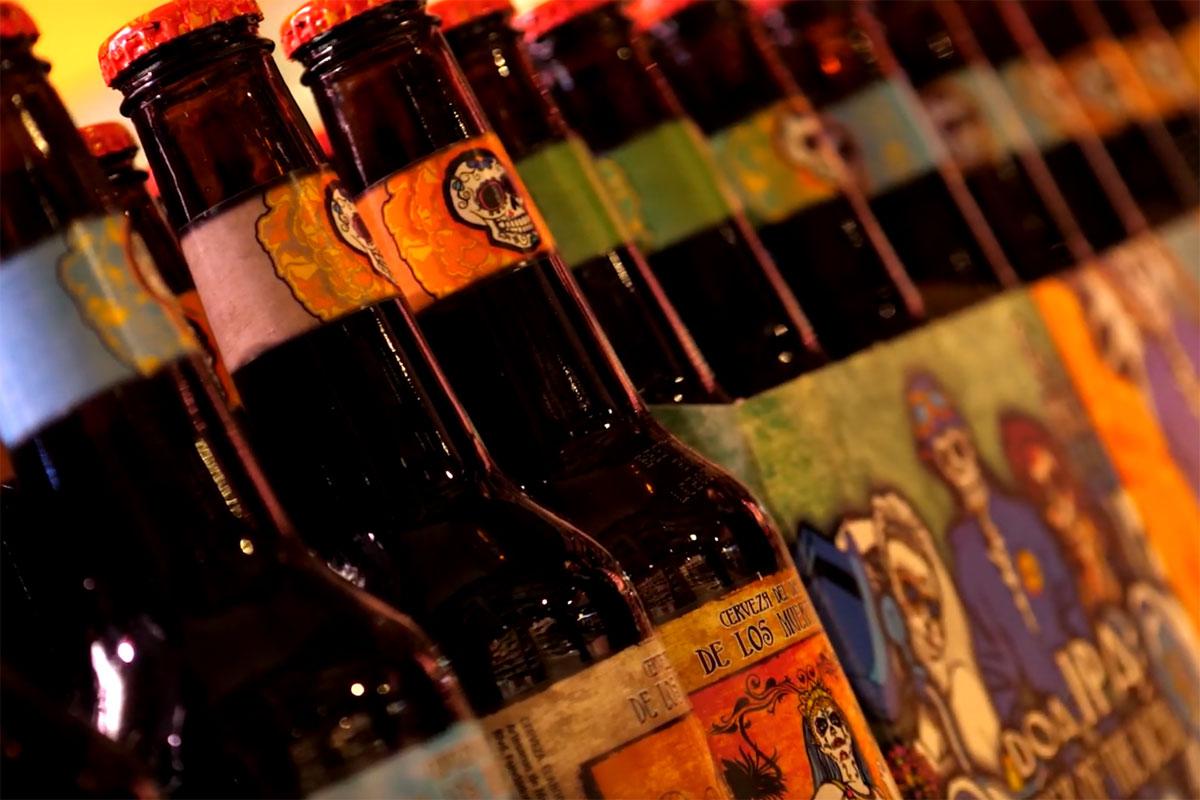 Cerveza del Dia de los Muertos
