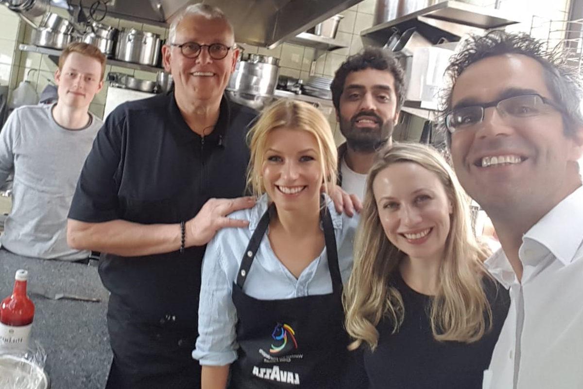 Kochen mit Annica Hansen und Christof Lang