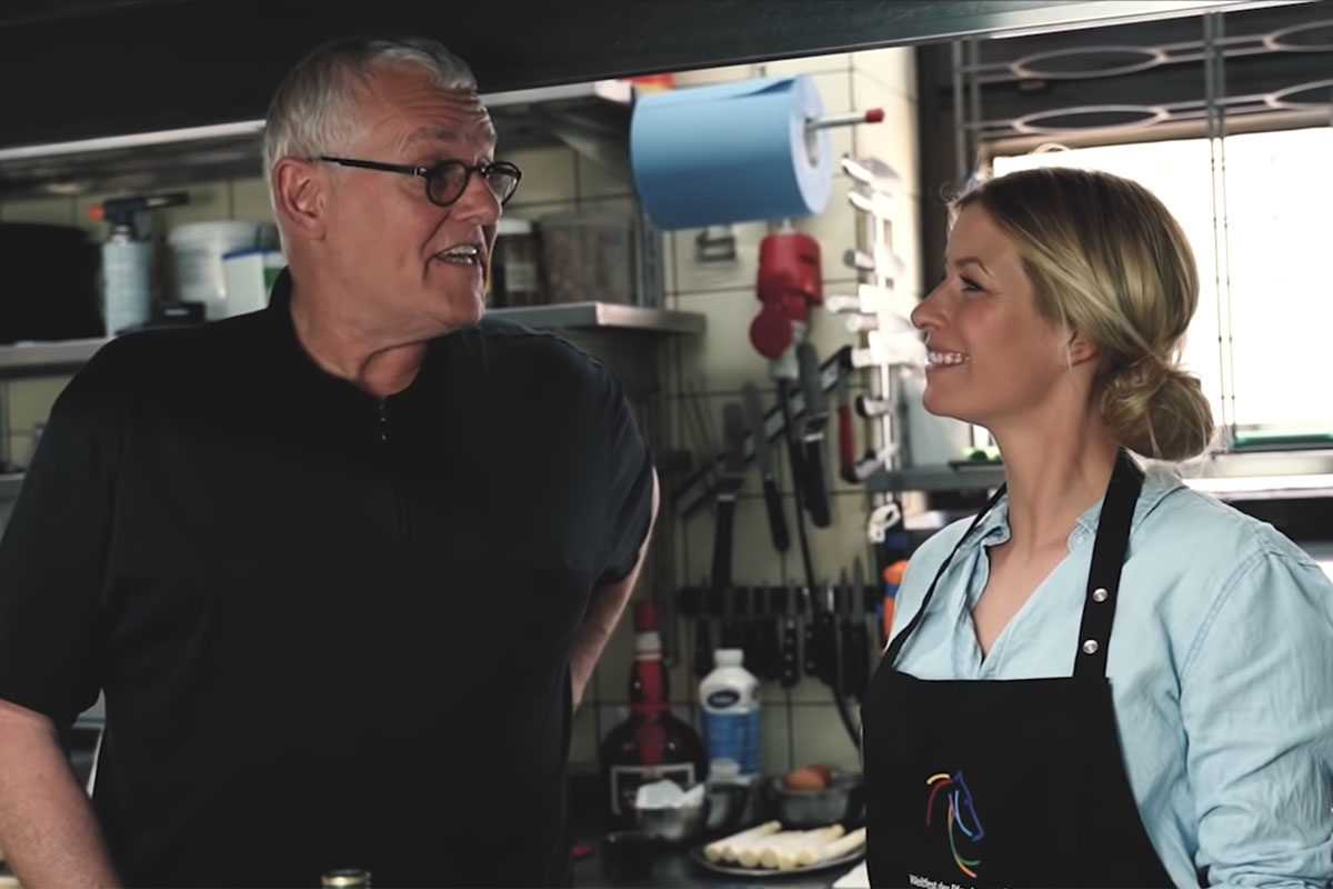 Yazdi Filmproduktion für das CHIO Aachen mit Annica Hansen